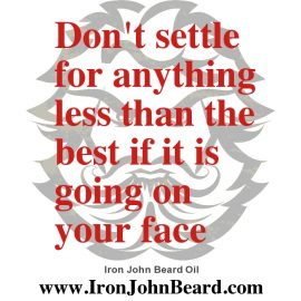 Why is Iron John Beard Oil the best?